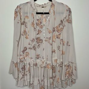 Free People Floral Festival Dress/Tunic